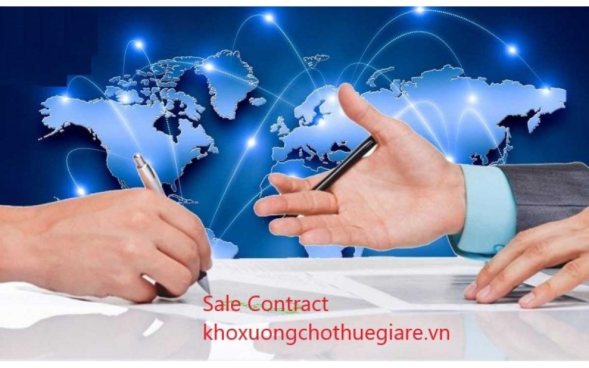 Sale Contract là gì? Tầm quan trọng và hiẹu lực của Sale Contract.