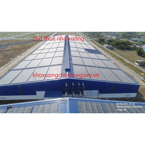 Khu công nghiệp cầu cảng Phước Đông- Cho thuê kho xưởng Long An.