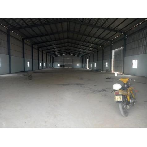 Kho Xưởng cho thuê giá rẻ gần vòng xoay An Phú.
