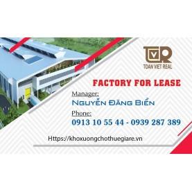 Hợp đồng thuê xưởng sản xuất