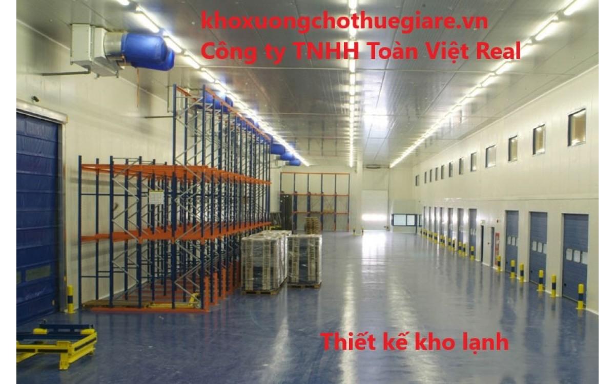 Thiết kế và lắp đặt kho lạnh tại Hà Nội, TP HCM hay các thành phố lớn khác.