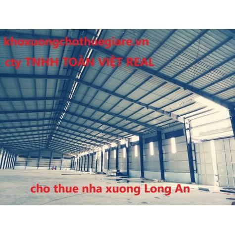 cho thuê nhà xưởng Long An -  Cụm Công Nghiệp Long Định