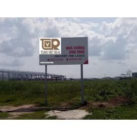 Kho xưởng cho thuê - đất công nghiệp - văn phòng cho thuê