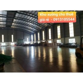 Cho thuê kho xưởng 4000m2 tại KCN Tam Phước