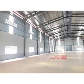 Cho thuê kho xưởng 1600m2 giá 60 triệu.