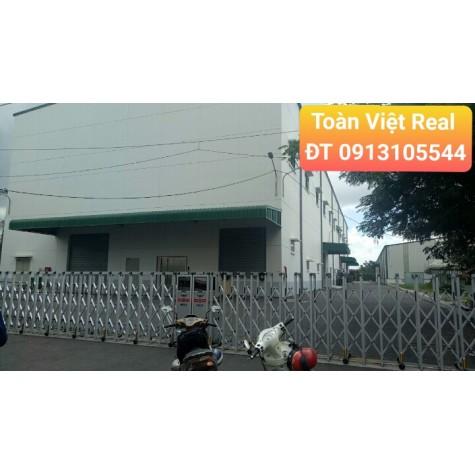 Cho thuê kho khu thương mại bắc KCX Tân Thuận