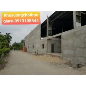 Cho thuê xưởng mới xây 3000m2 tại Trịnh Quang Nghị
