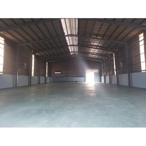 kho xưởng cho thuê 3400m -giá 145 triệu, Bình Chánh
