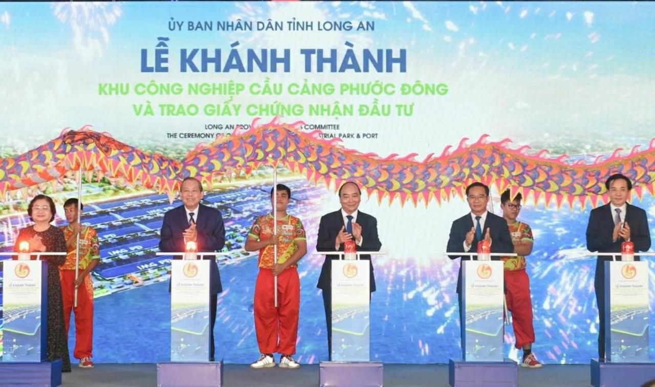 Cho thue nha xuong long an-kcn cau cang Phuoc Dong