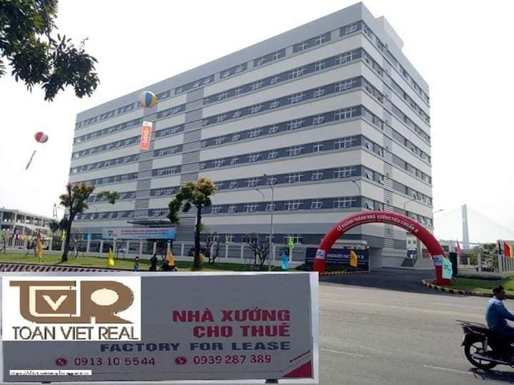 kho xưởng cho thuê cao tầng Toàn Việt Real tại quận 7