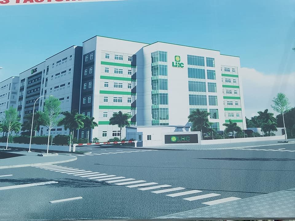 kho xưởng cho thuê cao tầng tại KCN Long Hậu