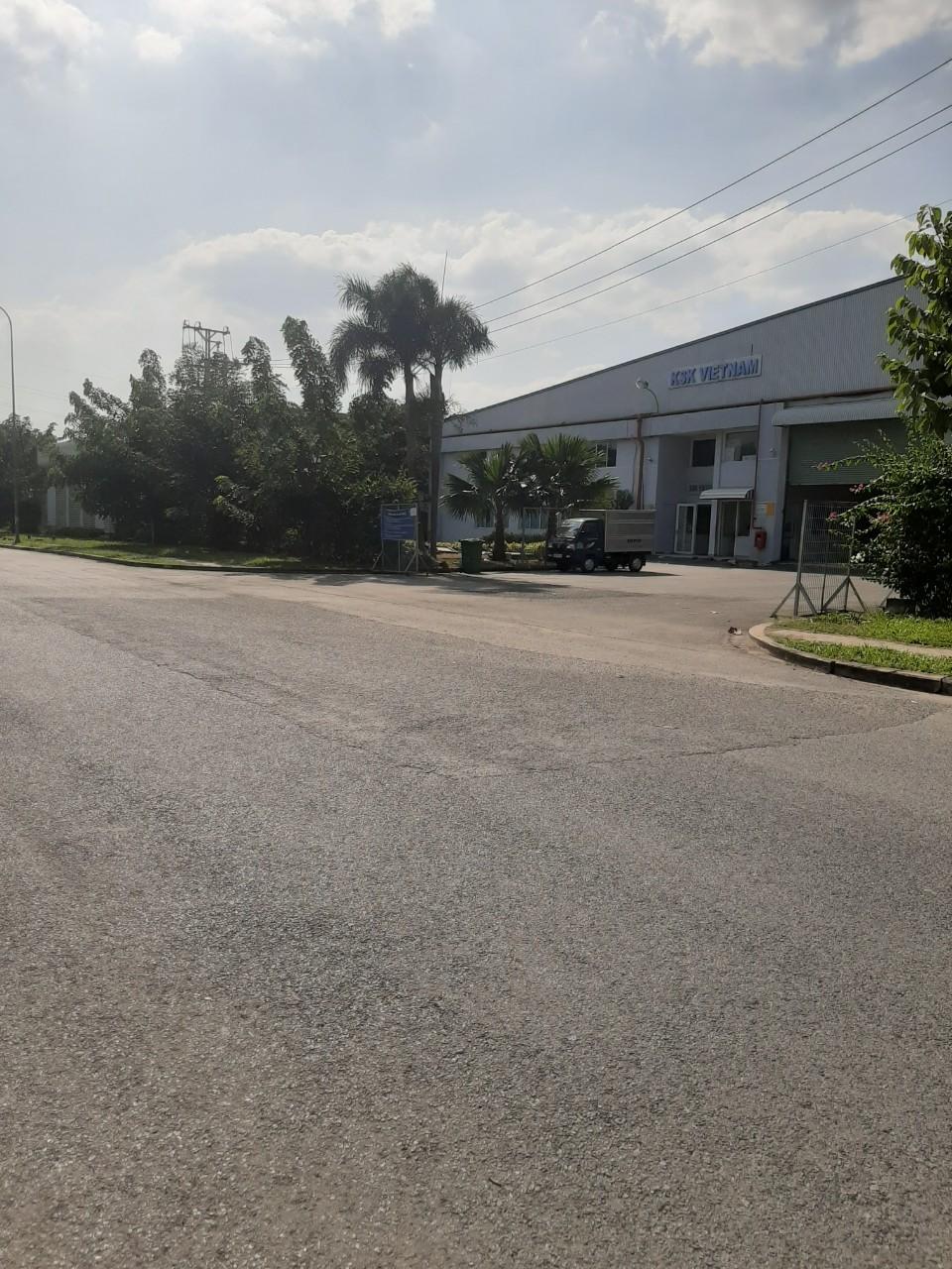 đường sá rộng rãi cho việc vận chuyển.