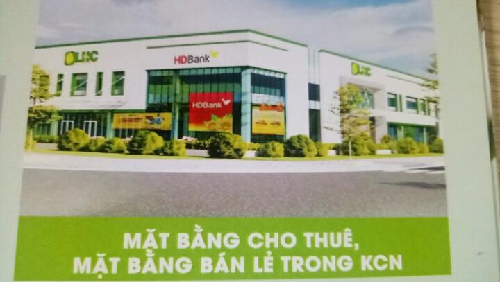 Cho thuê mặt bằng tại trung tâm thương mại tại KCN Long Hậu - Toàn Việt Real