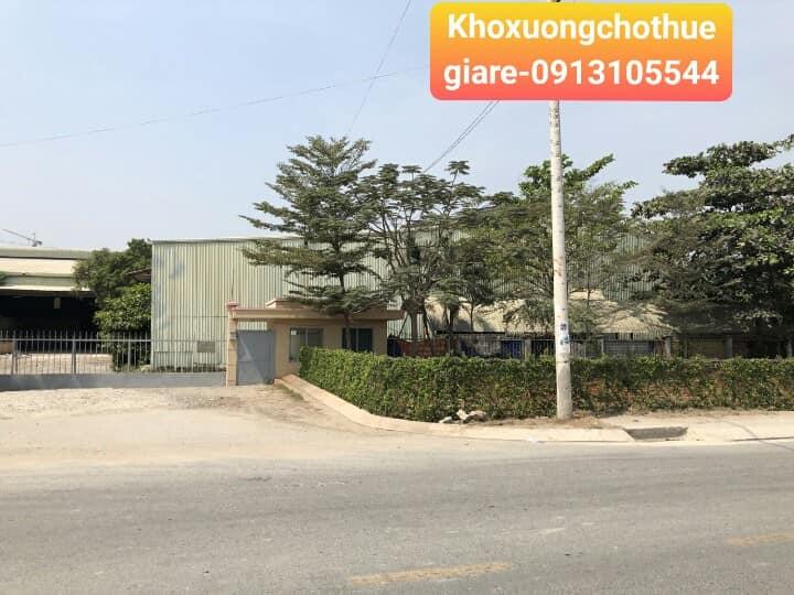 Văn phòng và kho xưởng cho thuê tại đường Đào Trí