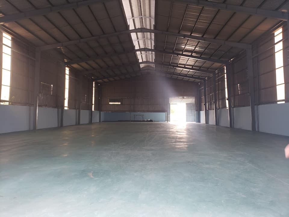 kho xưởng cho thuê 3400m -giá 160 triệu, Bình Chánh